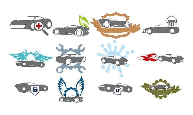 Car service bundle set collections