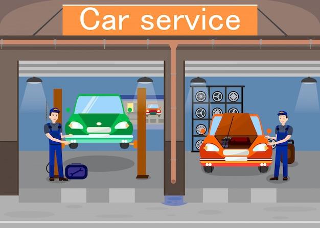 Car service promotional