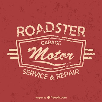 Car services and repair poster