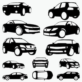 Силуэты автомобилей