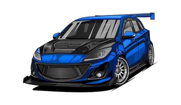 Car sport racing