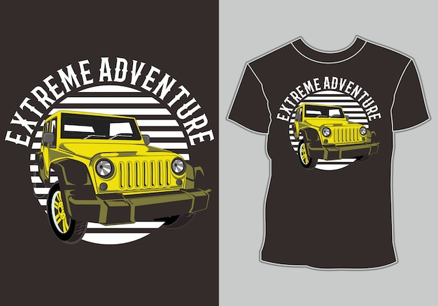 Car t shirt ,isolated easy to edit