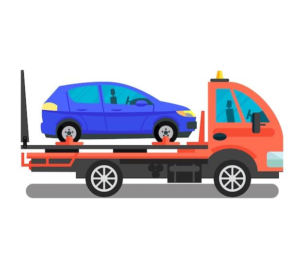 Car transportation business vector illustration