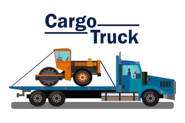 Car transportation business web banner template