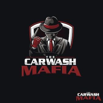 Логотип car wah mafia