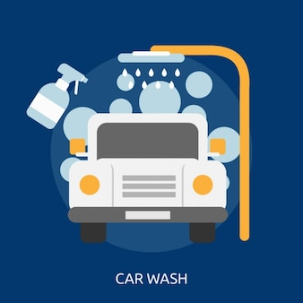 Car wash background design