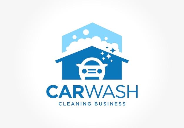 Car wash business icon