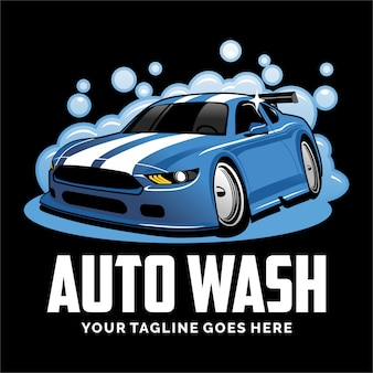 Car wash logo design inspiration