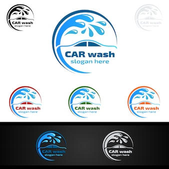 Car wash logo