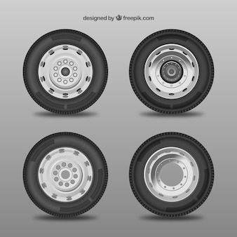 Car wheel collection