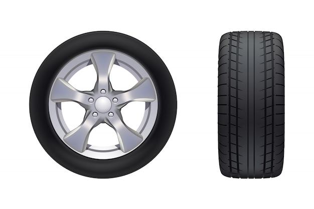 Комплект автомобильных колес