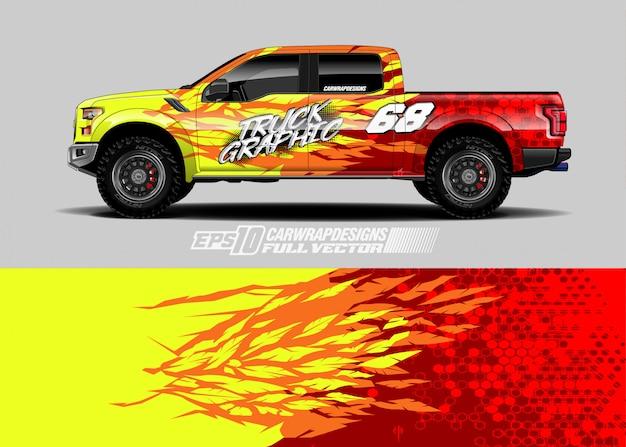 Car wrap decal designs