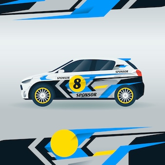 Car wrap design concept