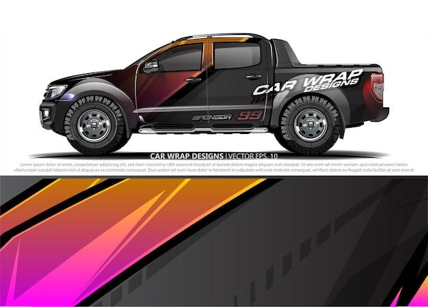 Дизайн автомобильной пленки для автомобильной виниловой наклейки