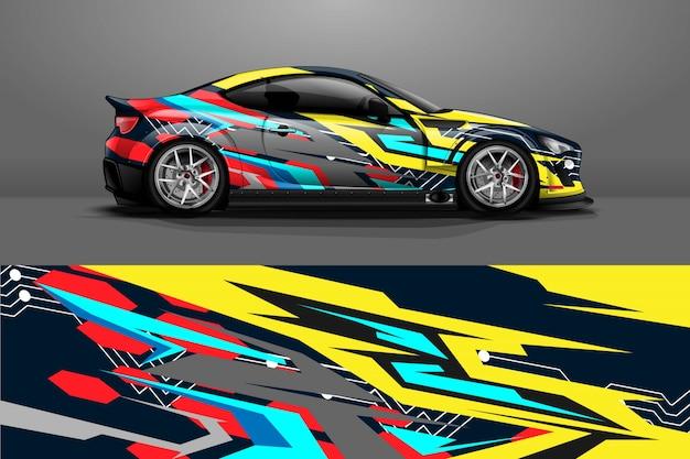 Car wrap design.