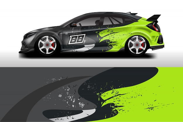 Car wrap designs.
