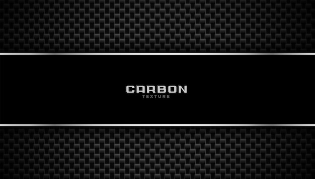Fondo in fibra di carbonio con linee metalliche