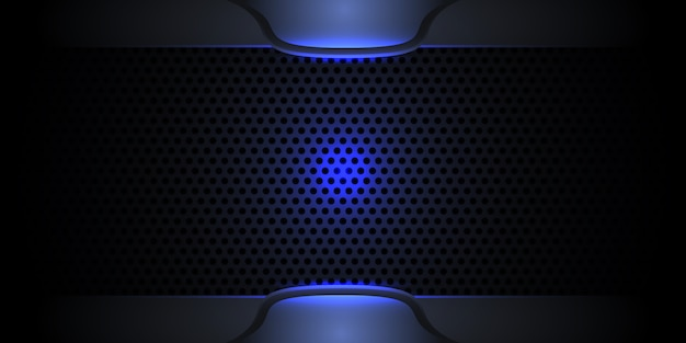 Carbon fiber dark modern texture