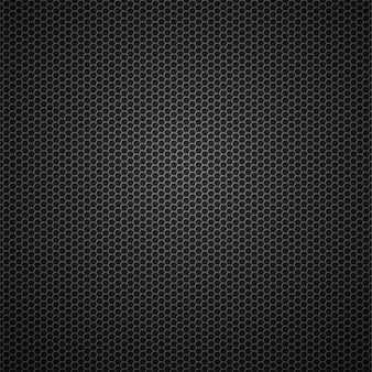 Carbon fiber metallic grid vector seamless pattern background
