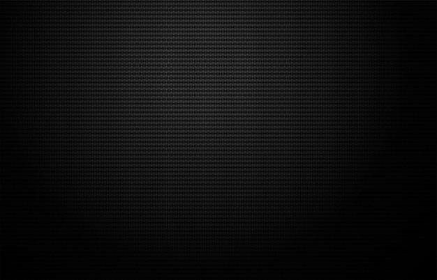 Carbon fiber texture geometric grid. dark background