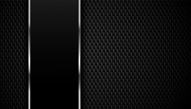 Carbon fiber texture with metallic lines background