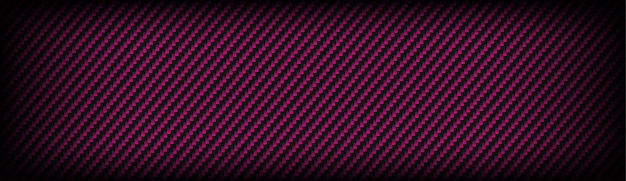 Carbon kevlar fiber texture with pink and dark grey background