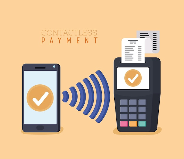 Card of contactless payment