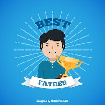 최고의 아버지를위한 카드