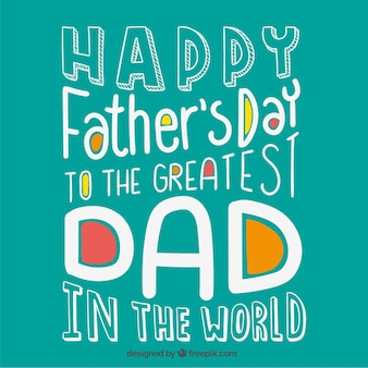 Card for the greatest dad in the world