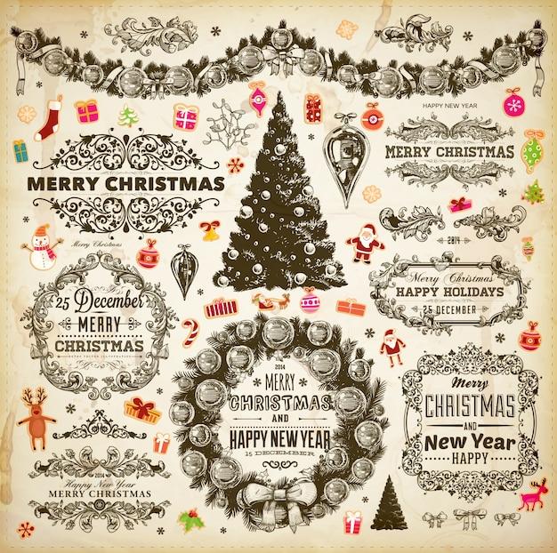 Card invitation swirl set ornate