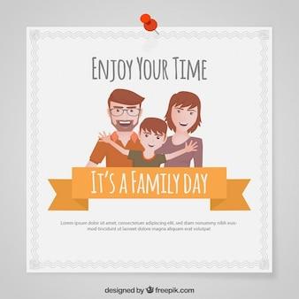 가족의 날의 카드