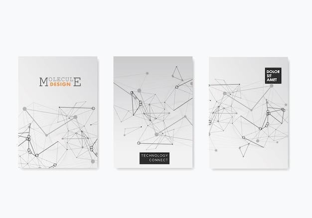 흰색 배경에서 카드입니다. 비즈니스 기술 개념입니다. 벡터 템플릿입니다. 명함. 원형 모양 템플릿 그림입니다. 표지 연결 템플릿. 포스터 디자인입니다.