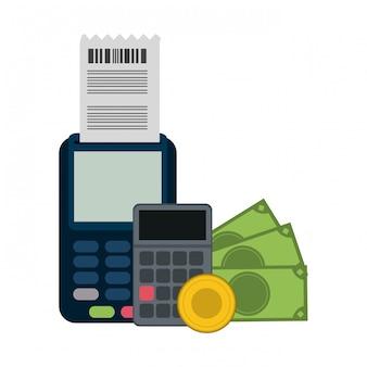 현금 및 계산기 카드 리더
