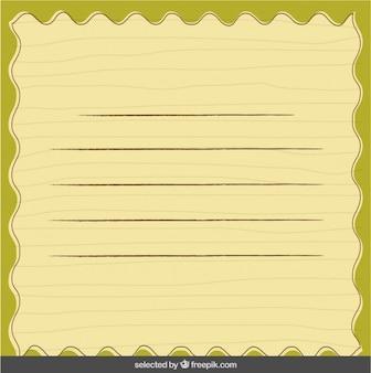 Card in scrapbook style