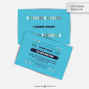 Card template business graphics
