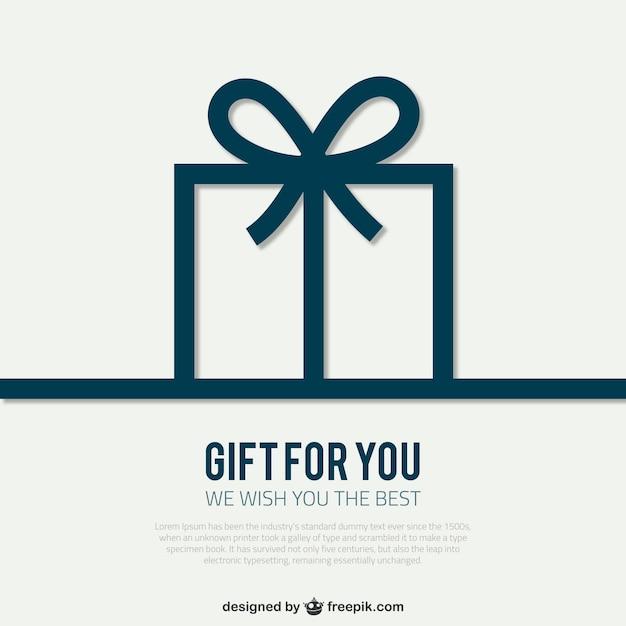 Christmas gift cards vector art