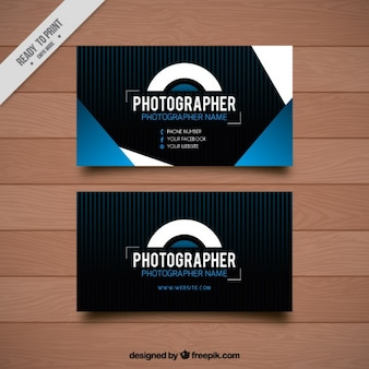Card with geometric shapes for photography
