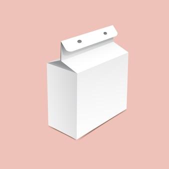 Картонная коробка макет