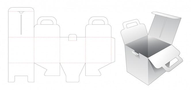 홀더 다이 컷 템플릿 골판지 사각형 상자