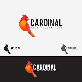 枢機卿の鳥のロゴ