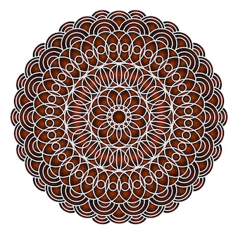 Cards or invitations with mandala pattern.vector vintage hand-drawn highly detailed round mandala elements
