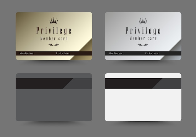 Cards template