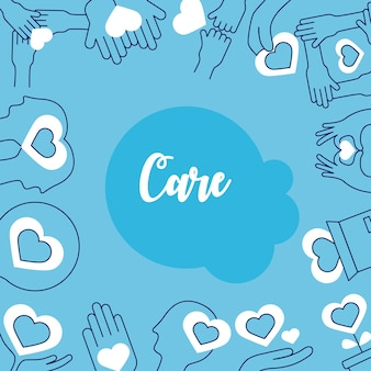 Care icon group