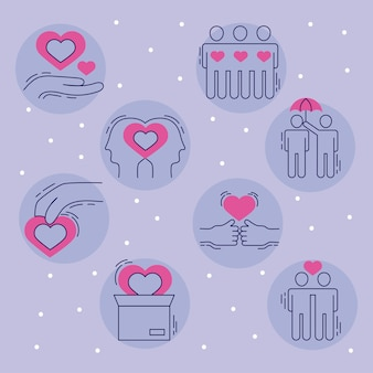 Care symbol collection