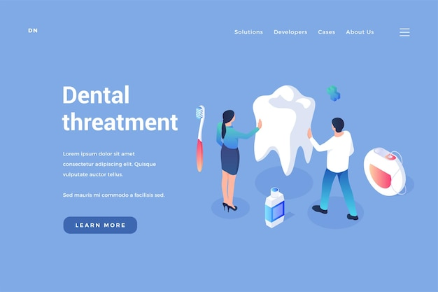 Care and treatment of dental prophylaxis of oral cavity and removal calculus