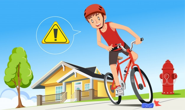 Careless cycling