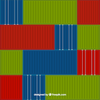 Cargo container background
