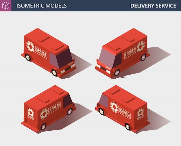 Грузовые автомобильные перевозки. быстрая доставка или логистический транспорт. плоский стиль иллюстрации.