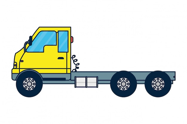 Cargo truck vehicle