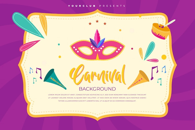 Carnival background template